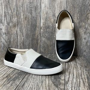 Zara Man slip on canvas shoes 42